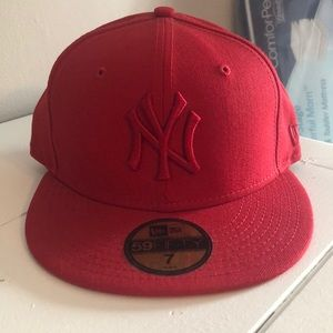 New York Yankees Fitted Hat Size 7